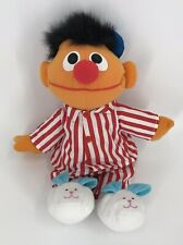 "TYCO Sesame Street Talking SING AND SNORE ERNIE 15"" Plush Stuffed Animal Toy"