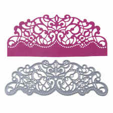1pc Flower Border Metal Cutting Dies For DIY Scrapbooking Album Paper Card ESJB