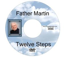 Father Martin 12 Twelve Steps ALCOHOLICS ANONYMOUS DVD FREE SHIPPING RARE