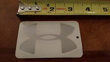 Under Armour Armor Silver Color Tactical Vinyl Sticker Decal OEM Original
