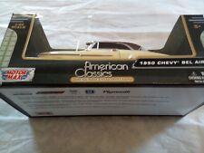 Motor Max-American Classics-1950 Chevy Bell Air 1:24 Model Car- Yellow -NEW