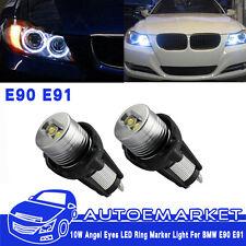 20W For BMW Headlight Angel Eye Ring Marker Halo Light Led E90 E91 Conversion