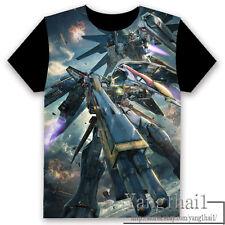 GUNDAM Anime Otaku Short Sleeve Unisex T-shirt Tops Cool S-XXXL Summer #P-248