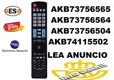 AKB73756565 MANDO A DISTANCIA SUSTITUTO TV LG 42LB630V , 47LB630V , 55LB630V