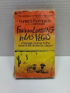 Fear and Loathing in Las Vegas First Edition Popular Library Paperback1971 Look
