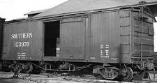 Funaro  F&C HO Southern SU 36' DS Wood Boxcar Late Hutchins Ends  8042