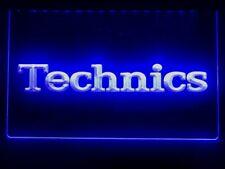 Technics Led Neon Light Sign Bar Club Pub Dj Music Advertise Home Decor Gift
