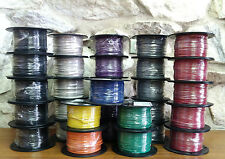 500 FT TFN/TEWN WIRE. 18 AWG SOLID 600 VOLT.  MADE IN USA.   6 COLORS AVAILABLE!