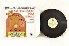 When Radio Was King! (Dean Martin And Jerry Lewis Show) Comedy