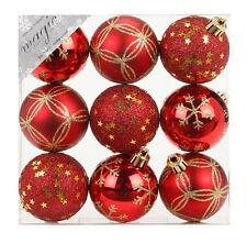 Weiß Christbaumkugeln Kunststoff.Christbaumkugeln Rot Günstig Kaufen Ebay