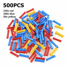 500pcs Assorted Insulated Electrical Wire Cable Terminal Crimp Connector Set