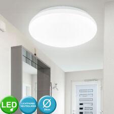 LED Decken Leuchte rund Energiespar Beleuchtung Küchen Strahler 4000K Lampe weiß