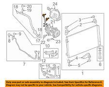 GM OEM Stabilizer Sway Bar-Front-Stabilizer Sway Bar Bolt 11515767