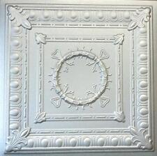 Tin-Look Styrofoam Ceiling Tiles Easy Installation R47 Silver Metallic Finish!!