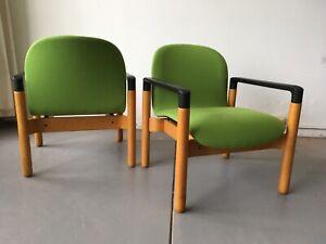 THONET Mid Century Single Blondewood Flex 2000 Armchair by Gerde Lange