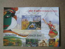 2016 India Miniature Sheet on Tourism in India - Released on Independence Day