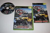 4x4 EVO 2 Microsoft Xbox Video Game Complete