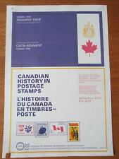 Canada Post Official Stamp Poster - 1968 Souvenir card - 331