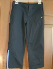 Nike Women's Exercise Cropped Pants Capris Navy Size S Small Workout