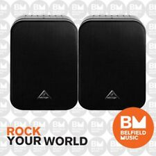 Behringer 1C-BK Studio Monitor Speakers Pair Black 1C -Brand New -Belfield Music
