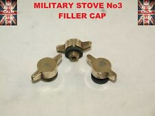 3 X MILITARY STOVE No3 FILLER CAP ARMY STOVE PRIMUS STOVE X 3