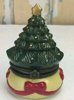 Mr. Christmas Gold Label Collection Christmas Tree Animated Porcelain Music Box