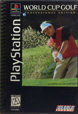 World Cup Golf Professional Edition - Long box - Sony Playstation 1 PS1 COMPLETE