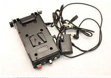 BP V-Mount Battery Power Supply With Sony V-Lock Plate For 5D2 5D3 7D 60D LP-E6
