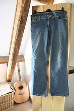 Hula Ladies bootcut stretch blue jeans  Size 12
