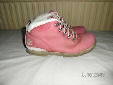 TIMBERLAND Pink Nubuck Leather Boots SIZE UK 5 EU 37.5