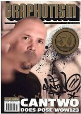 GRAPHOTISM MAGAZINE - ISSUE 50 - GRAFFITI + STREET ART - Can Two, Does, Pose