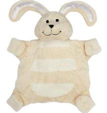 New baby sleepytot bunny, dummy holder comforter security blanket Large cream