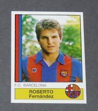 47 ROBERTO FERNANDEZ BARCELONA PANINI LIGA FUTBOL 87 ESPAÑA 1986-1987 FOOTBALL