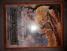 REF5 LORDS OF DARKNESS FORGOTTEN REALMS DUNGEONS