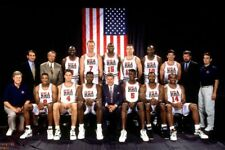 1992 OLYMPIC BASKETBALL DREAM TEAM Poster Print 2 feet x 3 feet B