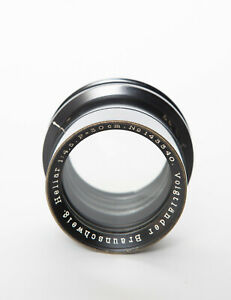 Voigtlander Heliar 30cm 300mm f4.5 barrel lens no. 143340 EX+++