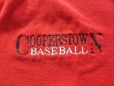 L#407 Cooperstown Baseball polo shirt, baseball hall of fame