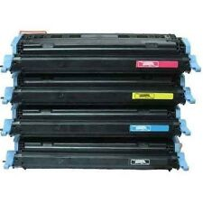 HP Laserjet 1600 2600 2600N 2605 2605DN Q6000A Q6001A 02A 03 TONER CARTRIDGE SET