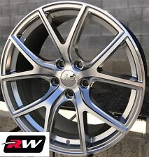 "Jeep Grand Cherokee SRT Night OE Factory Replica Wheels 20x9"" Hyper Silver Rims"