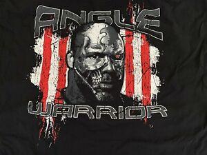 Kurt Angle Warrior T-Shirt Impact Wrestling TNA 3XL American Gold Medal WWE AEW