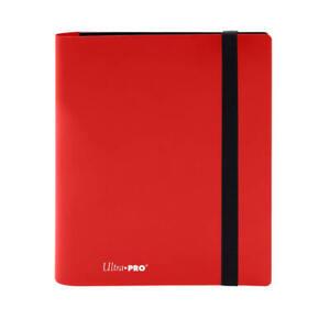 Ultra Pro Eclipse Binder Album 4 pocket RED 160 Trading Cards NBA NFL Pokemon