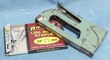 Vintage Arrow Staple and Unused Staples dq