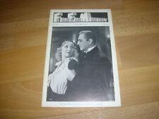 FILM FAN  Monthly US Mag  Helen TWELVETREES & John BARRYMORE cover Jan 72  # 127