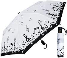 "42"" Arc Music Auto-Auto Mini Umbrella - RainStoppers Rain/Sun UV Fashion"