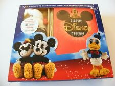 Classic Disney Crochet 12 Project Book - Kit Makes 2 Character Projects New