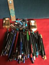 VINTAGE LOT Of 75 MECHANICAL PENCILS LOT WITH EXTRA LEAD MOSTLY PENTEL