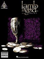 LAMB OF GOD GUITAR TAB / TABLATURE  / ***BRAND NEW*** / SACRAMENT / SONGBOOK