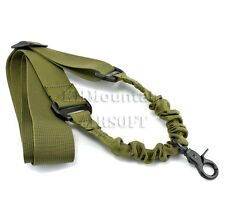 Dream Army Nylon ONE-POINT Bungee Rifle Sling (O Shape) / Green (KHM Airsoft)