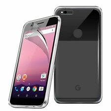 For Google Pixel XL - Ultra Thin Clear TPU Gel Skin Case Cover & LCD Film