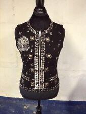 Carlisle Per Se Knit Vest with Pop Decoration M